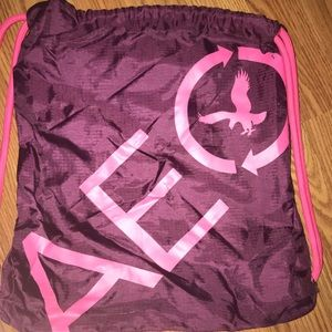 American Eagle Outfitters (AE) purple/pink bag